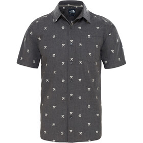 The North Face Baytrail Jacquard Shirt Men weather dark black heather hatchet jacquard